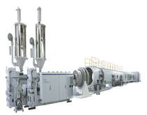HDPE/PP Water Supply and Gas Supply Pipe Extrusion Line